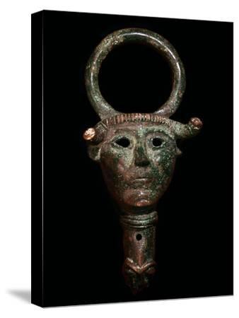 Bronze escutcheon-Unknown-Stretched Canvas Print