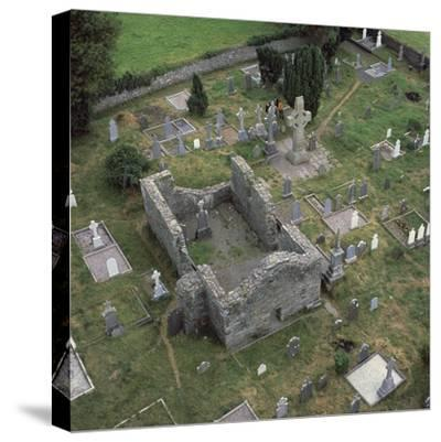 View of a monastic settlement, 10th century-Unknown-Stretched Canvas Print