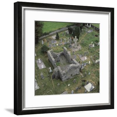 View of a monastic settlement, 10th century-Unknown-Framed Photographic Print