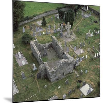 View of a monastic settlement, 10th century-Unknown-Mounted Photographic Print