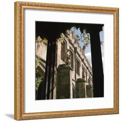 The Quadrangle of Magdalen College, 15th century-Unknown-Framed Photographic Print