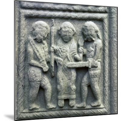 Image from the Cross of Muiredach, 10th century-Unknown-Mounted Giclee Print