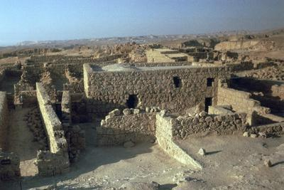 Storerooms in Masada, 1st century-Unknown-Framed Photographic Print