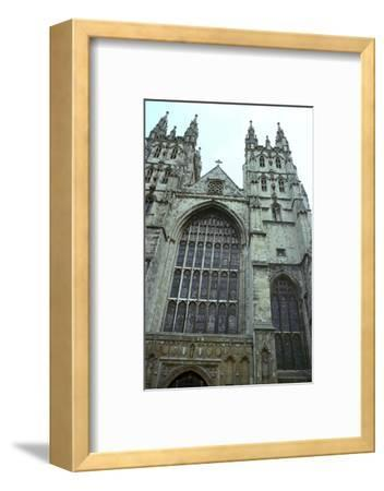 Canterbury Cathedral from the west, 6th century-Unknown-Framed Photographic Print