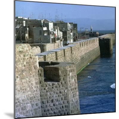 Harbour of Acre-Unknown-Mounted Photographic Print
