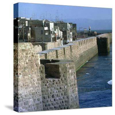 Harbour of Acre-Unknown-Stretched Canvas Print