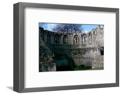 Roman multiangular tower, 3rd century-Unknown-Framed Photographic Print