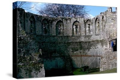 Roman multiangular tower, 3rd century-Unknown-Stretched Canvas Print
