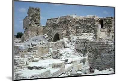 Ruins of Caesarea-Unknown-Mounted Photographic Print