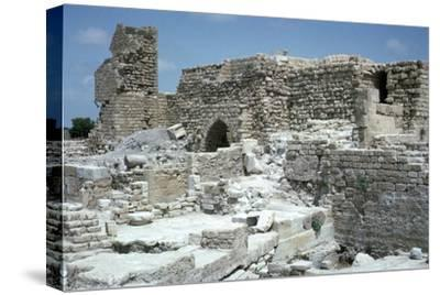 Ruins of Caesarea-Unknown-Stretched Canvas Print