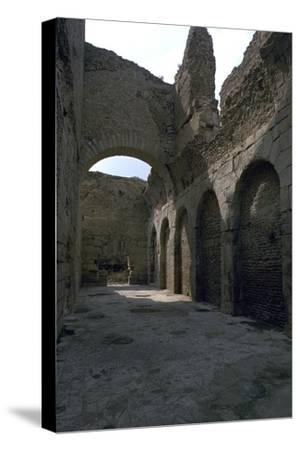 Baths in the Roman city of Bulla Regia, 2nd century BC-Unknown-Stretched Canvas Print