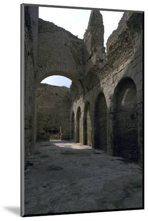 Baths in the Roman city of Bulla Regia, 2nd century BC-Unknown-Mounted Photographic Print