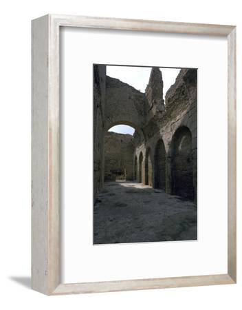 Baths in the Roman city of Bulla Regia, 2nd century BC-Unknown-Framed Photographic Print