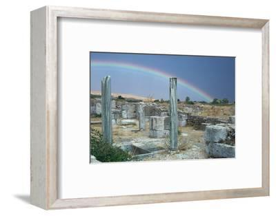 Roman city of Bulla Regia, 2nd century BC-Unknown-Framed Photographic Print
