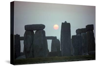 Stonehenge at sunrise, 25th century BC-Unknown-Stretched Canvas Print