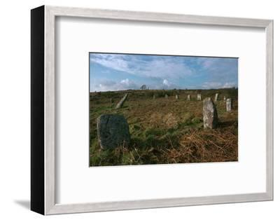 Boscawen-Un Stone Circle-Unknown-Framed Photographic Print
