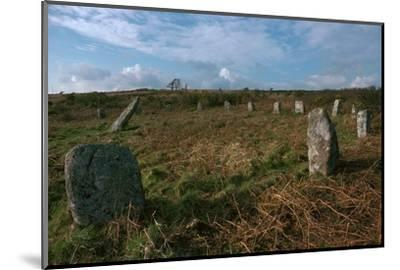 Boscawen-Un Stone Circle-Unknown-Mounted Photographic Print