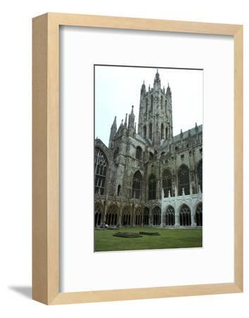 Canterbury Cathedral from the northwest, 6th century-Unknown-Framed Photographic Print