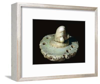 Roman Phallic Amulet-Unknown-Framed Giclee Print