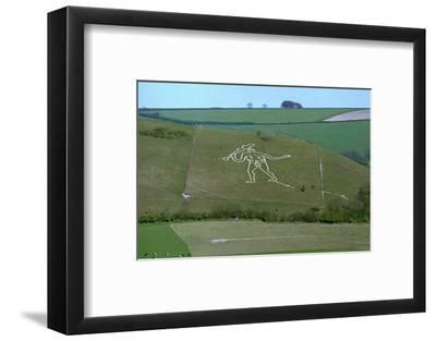 Cerne Abbas Giant, 18th century-Unknown-Framed Photographic Print