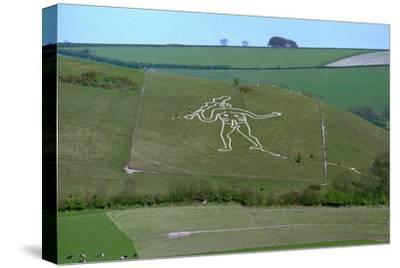 Cerne Abbas Giant, 18th century-Unknown-Stretched Canvas Print