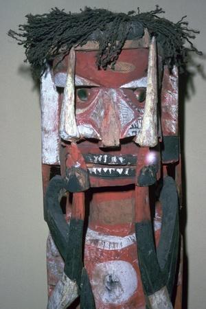 Malanggan figure-Unknown-Framed Giclee Print