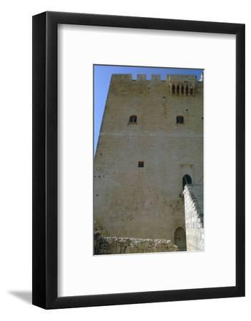 The Great Keep of Kolossi Castle, 15th century-Unknown-Framed Photographic Print
