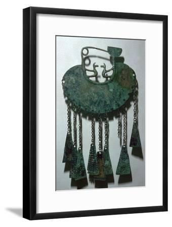 Celtic bronze pendant-Unknown-Framed Giclee Print