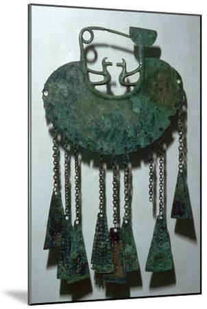 Celtic bronze pendant-Unknown-Mounted Giclee Print