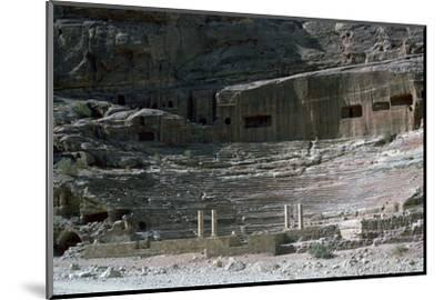 Nabatean Theatre, 1st century-Unknown-Mounted Photographic Print