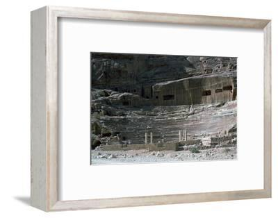 Nabatean Theatre, 1st century-Unknown-Framed Photographic Print