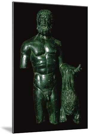 Roman bronze of Hercules-Unknown-Mounted Giclee Print