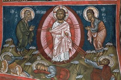 The Transfiguration of Christ, 12th century-Unknown-Framed Giclee Print