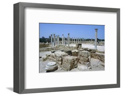Roman Gymnasium, c.4th century BC-Unknown-Framed Photographic Print