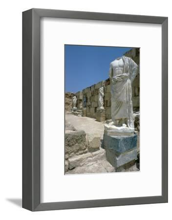 Roman Gymnasium, c.4th century BC-Unknown-Framed Photographic Print