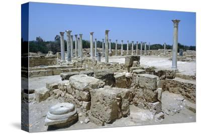 Roman Gymnasium, c.4th century BC-Unknown-Stretched Canvas Print
