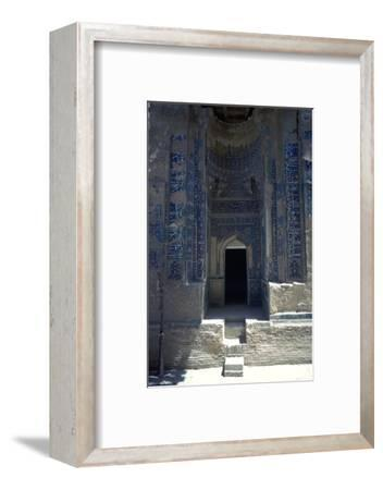 Tomb in the Sha-I-Zindeh Mausoleum, 14th century-Unknown-Framed Photographic Print