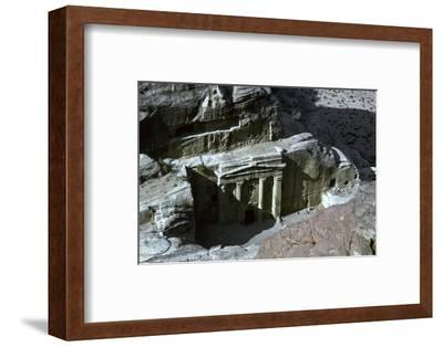 Roman Soldier Tomb in Petra, 1st century-Unknown-Framed Photographic Print
