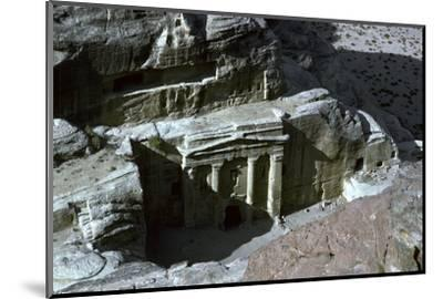 Roman Soldier Tomb in Petra, 1st century-Unknown-Mounted Photographic Print