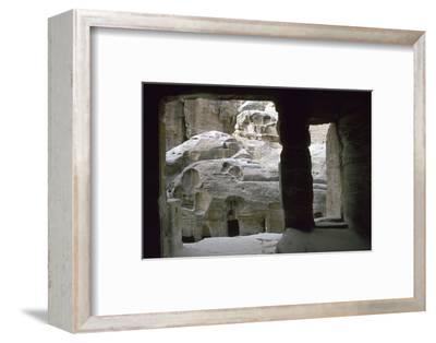 Siq El Barid, 1st century BC-AD-Unknown-Framed Photographic Print