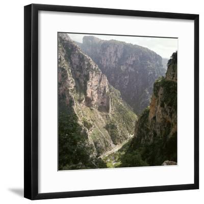 Vikos Gorge in Epirus, Greece-Unknown-Framed Photographic Print