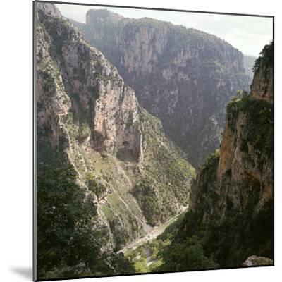 Vikos Gorge in Epirus, Greece-Unknown-Mounted Photographic Print