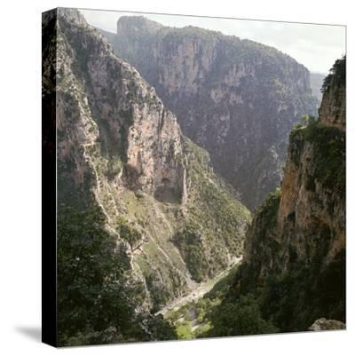 Vikos Gorge in Epirus, Greece-Unknown-Stretched Canvas Print