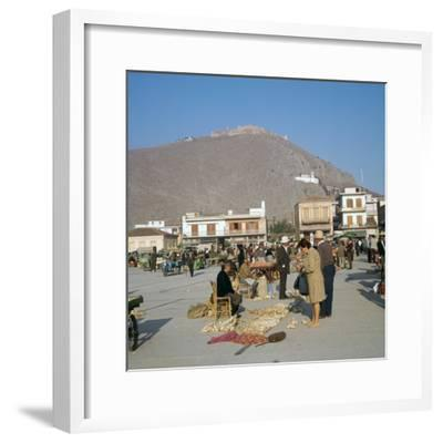 Morning market in Argos, 6th century BC-Unknown-Framed Photographic Print