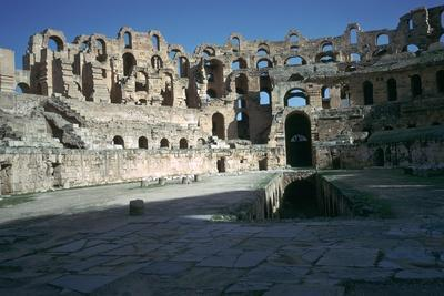 Interior of a Roman colosseum, 3rd century-Unknown-Framed Photographic Print