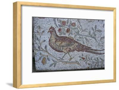 Floor mosaic from a Roman villa-Unknown-Framed Giclee Print