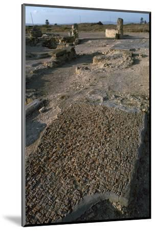 Punic floor mosaic, c.6th century BC-Unknown-Mounted Photographic Print