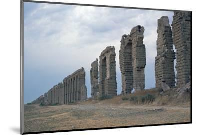 Roman aqueduct in Carthage-Unknown-Mounted Photographic Print