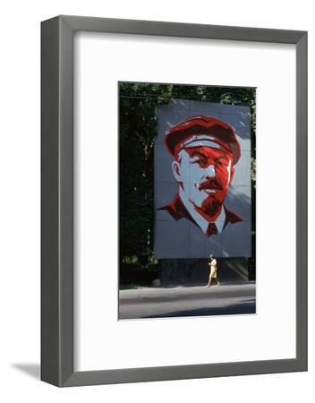Portrait of Lenin-Unknown-Framed Photographic Print