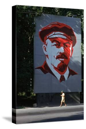 Portrait of Lenin-Unknown-Stretched Canvas Print
